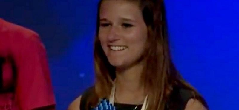 Videó: különleges találmánnyal lepte meg a világot egy 17 éves lány