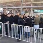 Brutál: így taposták a Kubatov-vezérszurkolót a Fradi-meccsen
