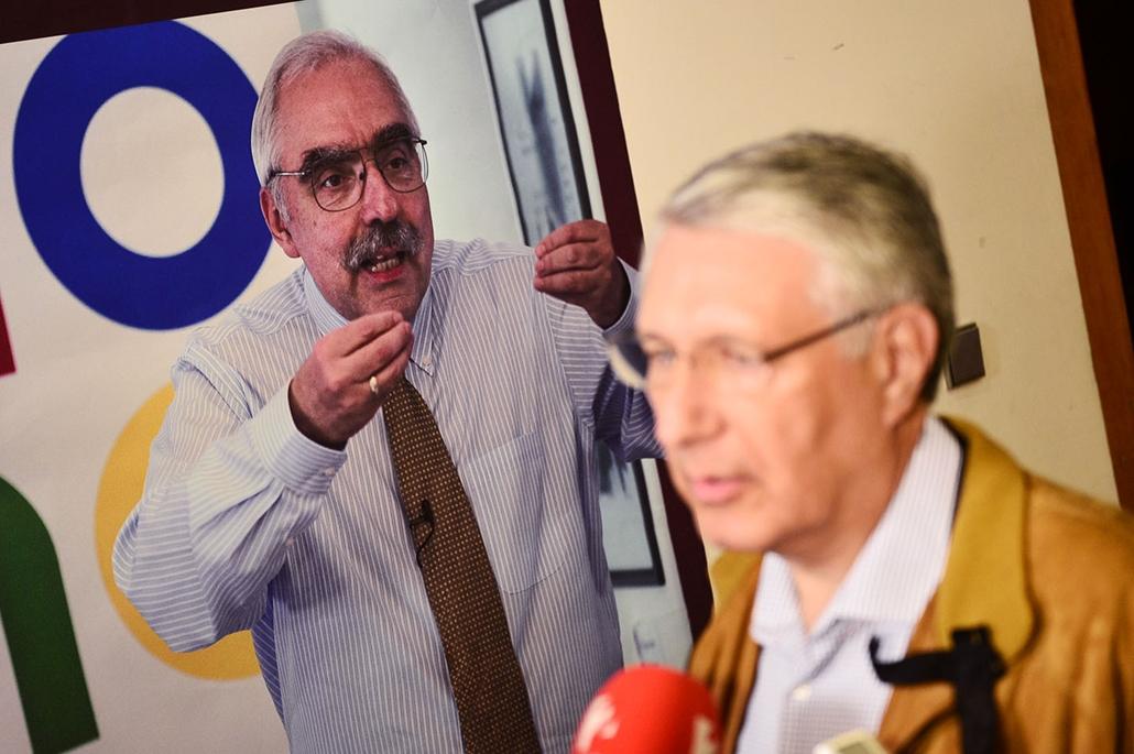 SA, Választás, Bokros Lajos, Falus Ferenc 2014, 2014.10.06.