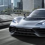 Már javában nyúzzák a Mercedes Bugatti-verő hiperautóját – fotók