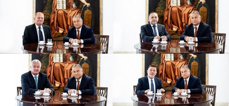 A miniszterek tüzet oltanak a kampányban, Orbán vár, Rogán nem mutatkozik