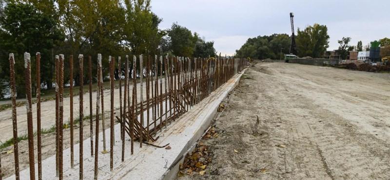 Mobilgát helyett most faültetést ígérnek a Római-parton