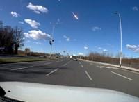Fényes nappal is vakító volt, ahogy felrobbant egy meteor Szlovénia és Horvátország légterében