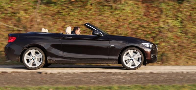 Télen kabriózni? Receptre írnánk fel mindenkinek - teszten a BMW 230i Cabrio