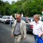 Az utakon tiltakozik a LIGA Szakszervezet az új Munka törvénykönyve ellen