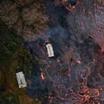 Már egy fontos erőmű területén hömpölyög a láva Hawaiin