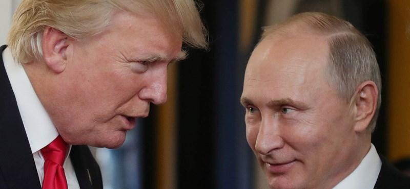Focidiplomácia: Trumpot is szívesen látja Putyin