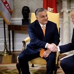 Orbán félmillió forintot érő ajándékot kapott Trumptól
