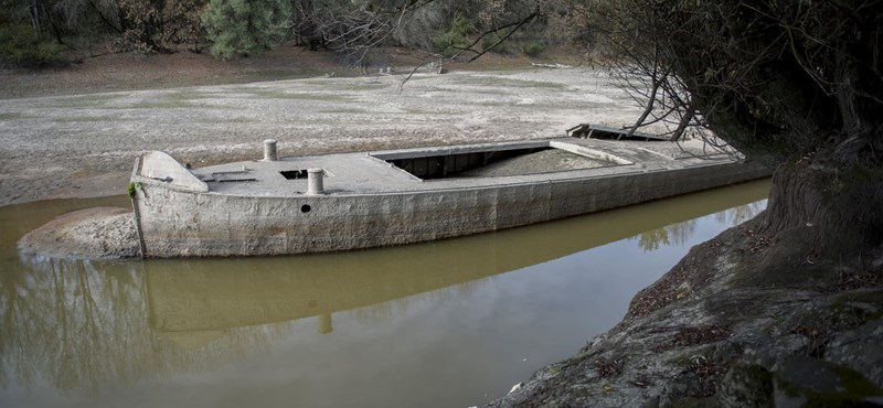 Betett a gabonatermesztőknek a Duna alacsony vízállása