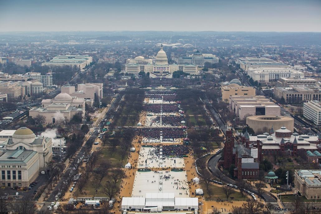 Trump nagyítás afp. beiktatás 2017 január 20