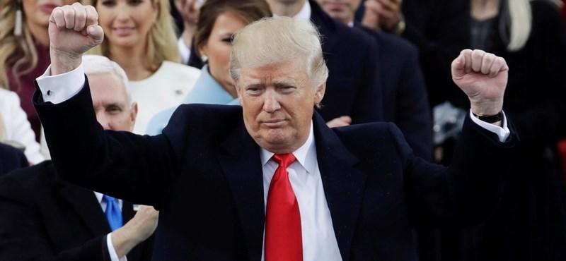 Donald Trump az Egyesült Államok elnöke - percről percre