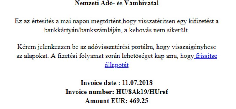 "Be careful when you receive such e-mail, scammers search your data on the name of the NAV ""width ="" 800 ""height ="" 370"