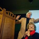 Felesége vette át Tahi Tóth László Kossuth-díját, a színész nagyon örült a kórházban