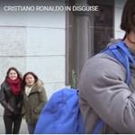 Videó: Az álruhás C. Ronaldo szinte sokkolta a madridi járókelőket