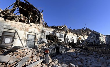 C'è stato un terremoto di magnitudo 6,3 in Croazia e il danno è stato grave