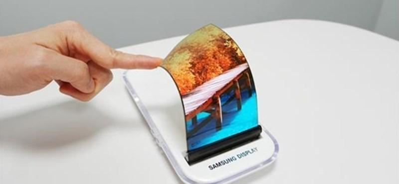Samsung: a hajtogatható telefonunk egyszerre egy táblagép is