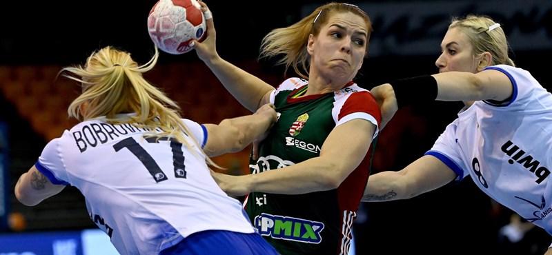 Nem bírt az olimpiai bajnokkal a magyar női kézilabda-válogatott