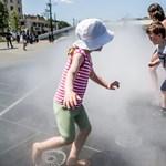 Fülledt meleg, 33-34 fok lesz a hétvégén