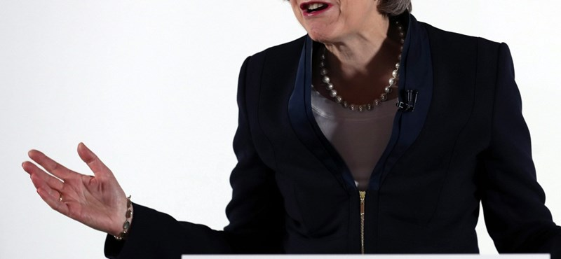 Theresa May Nagy-Britannia miniszterelnöke
