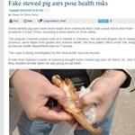 Hányingert keltő bűz: hamis disznófülek miatt nyomoznak