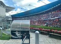 Fehér mezben játszik a magyar válogatott, szivárványszínű lett az UEFA logója - élőben a foci-Eb tizenharmadik napjáról