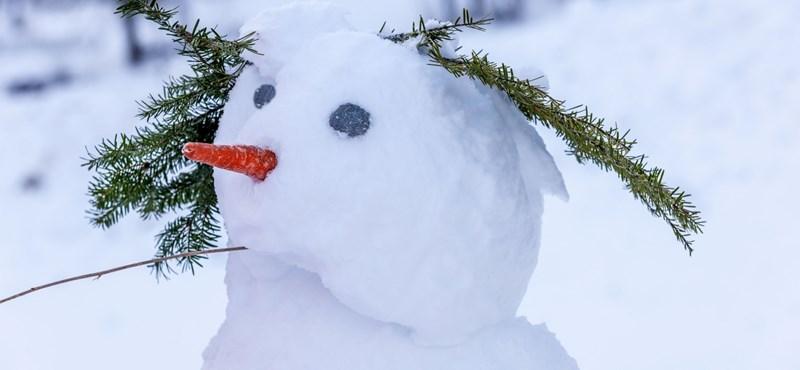Időjárás: hó van, emberek!