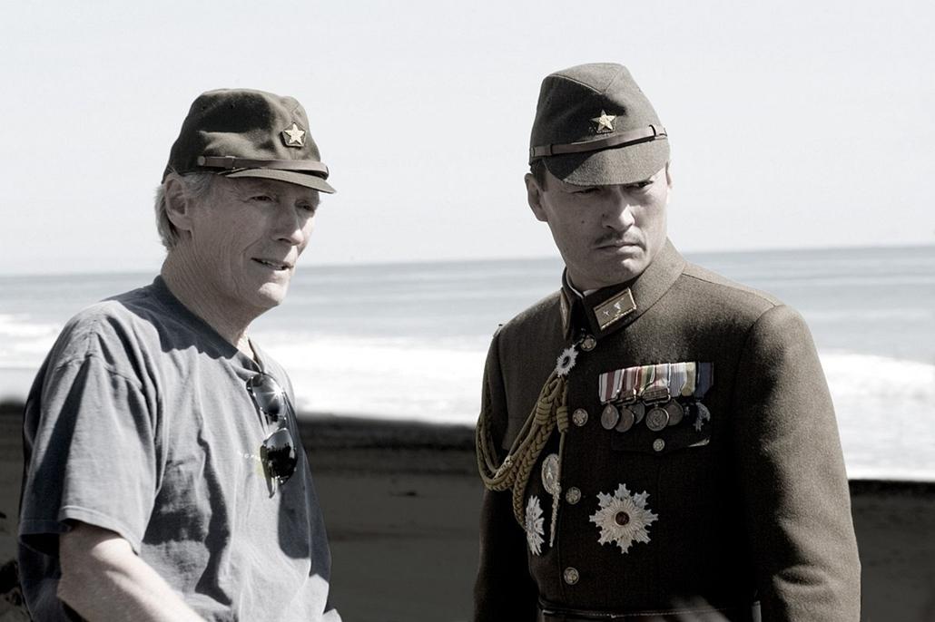 afp.2007. - Clint Eastwood a Levelek iwo jimáról című film forgatásá 2007-ben.