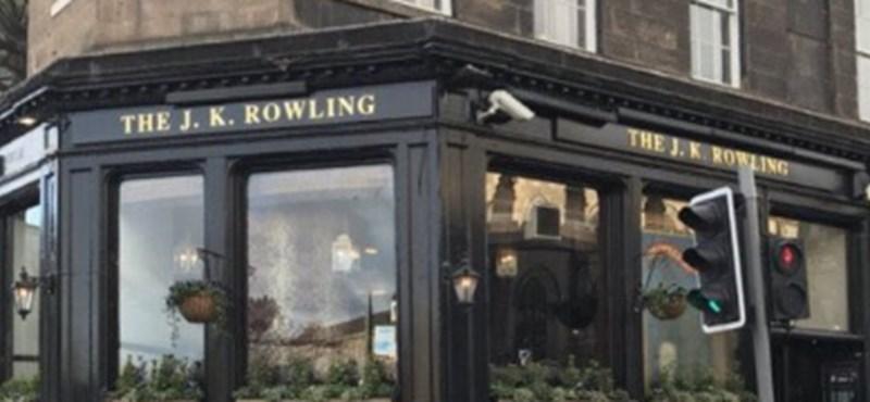 A Harry Potter-könyvek szerzőjének nevét vette fel egy kocsma