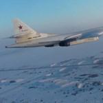 Ritka videó került elő az orosz légierő bombázóiról