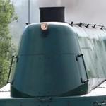 Mint egy tank: sebességrekorder gőzmozdonyt fotóztunk Solymárnál