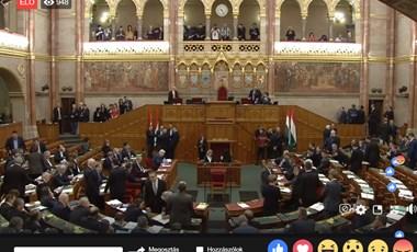 Ma szavaz az Országgyűlés a pulpitusfoglaló ellenzékiek büntetéséről