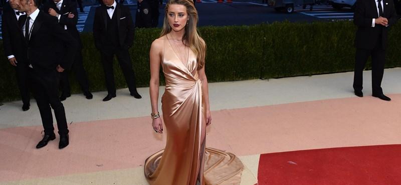 Amber Heard reveló su secreto: su bebé nació en la primavera