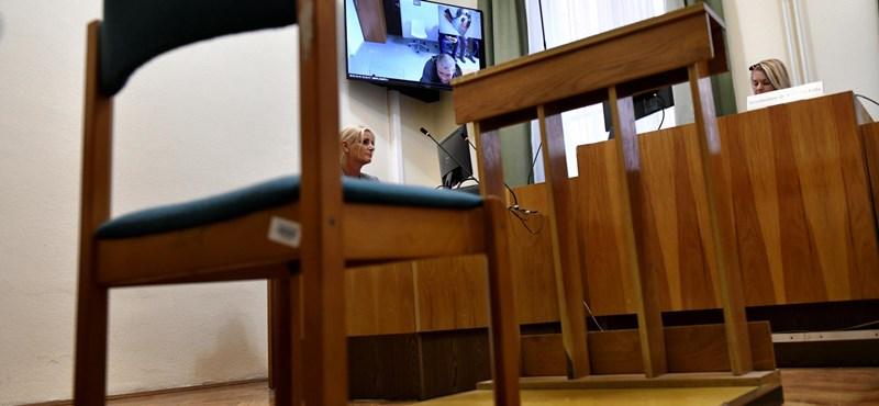 A 61 éves hajléktalan nő is figyelmeztetést kapott a bíróságtól