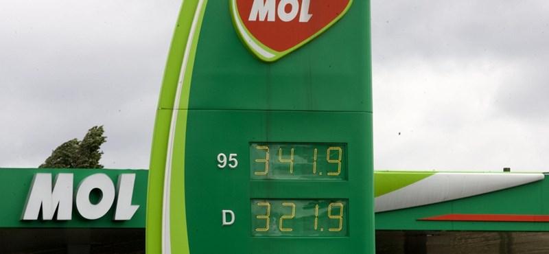A benzin ára jövőre is a mostani szinten maradhat