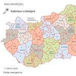 Térkép: ilyen választókerületeket rajzolt a Fidesz