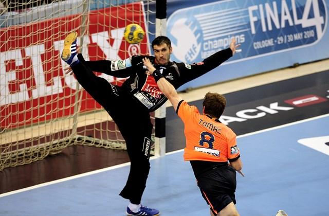 2010. május 1. - Bajnokok Ligája: Veszprém - Barcelona