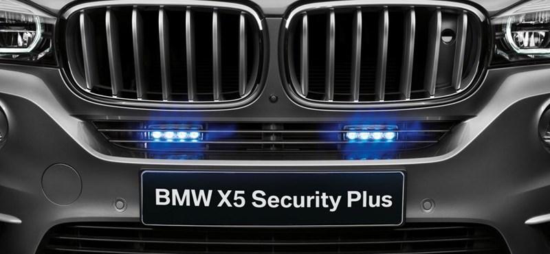 Érkezik a BMW X5, ami ellenáll az AK-47-es töltényeinek