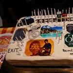 Felejthetetlen tortát kapott az 50 éves Viszkis rabló – fotó