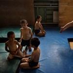 Így dagadnak a muszklik a világ iskoláiban - Nagyítás-fotógaléria