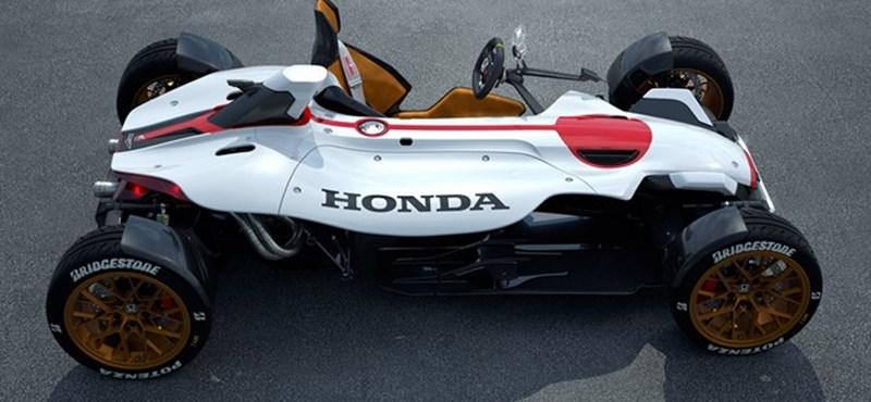 Honda Project 2&4: zsebrakéta 405 kilóval