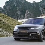 A Range Rover Sportot is kezelésbe vette a Mansory