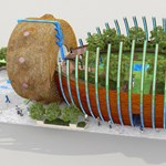 Elkészült az ellentmondásos Sámándob-pavilon a világkiállításon