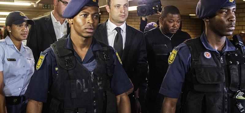 Pistorius bűnös gondatlanságból elkövetett emberölésben