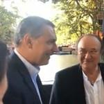 Lázár János Korda Györggyel és Balázs Klárival bulizott – videó