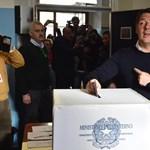 Olasz népszavazás: a nagy ellenfelek már szavaztak