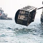 Metrókocsikat dobnak a halaknak - megdöbbentő fotók