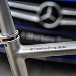 Bringában sem lehet utolsó egy Mercedes márkájú
