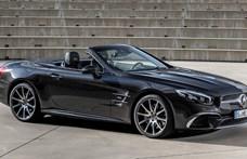 Nyitott tetős élvezetek: itt a legújabb Mercedes SL