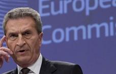 Oettinger szerint nem Paks miatt nevezték ki