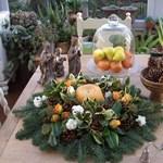 3 gyönyörű asztaldísz karácsonyra
